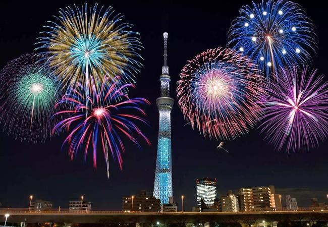 Sumidagawa Fireworks