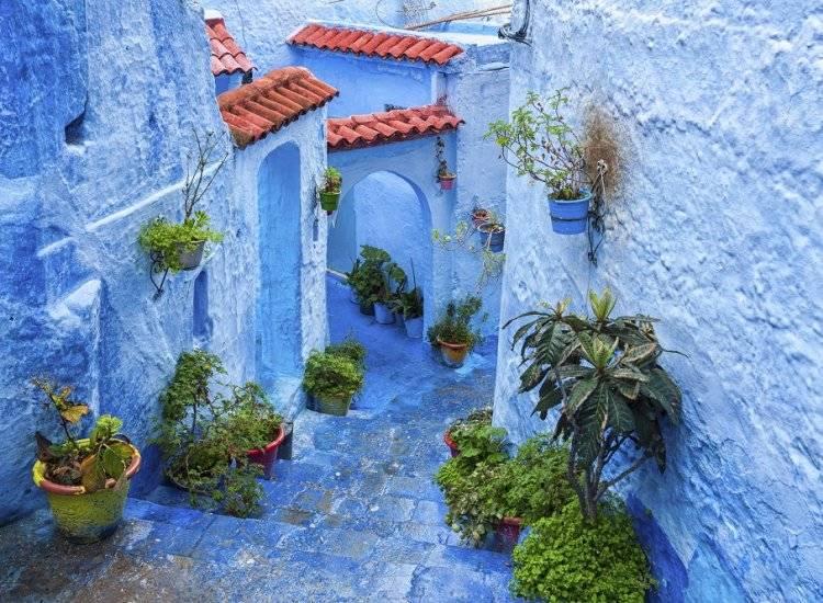 Satul Albastru din Chefchaouen