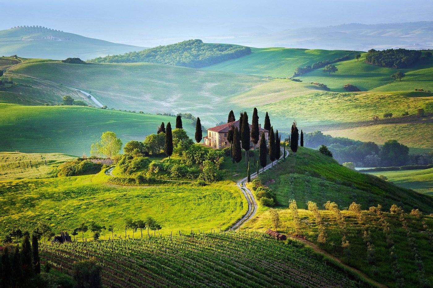 Relaxare in natura in Toscana
