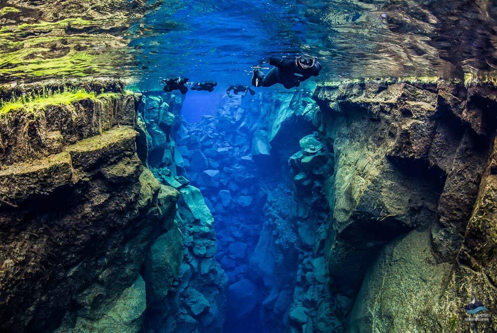 Snorkel intre continentele