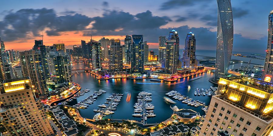 Districtul rezidential Dubai Marina